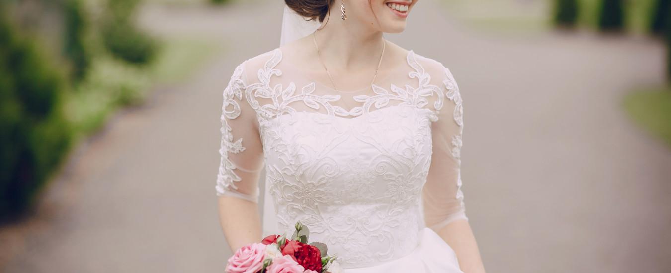 Nuove tendenze per abito da sposa 2017